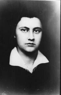Лида Зубчинская. Примерно 1951 г. Фото из                       личного архива Е.И.Рерих